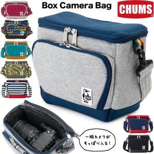 CHUMS Box Camera Bag チャムス ボックス カメラバッグ  スウェットとナイロンの...