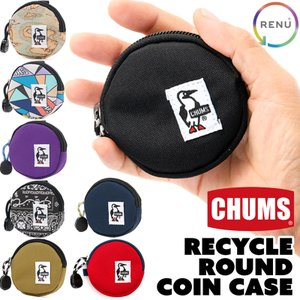 CHUMS チャムス コインケース Eco Round Coin Case|2m50cm