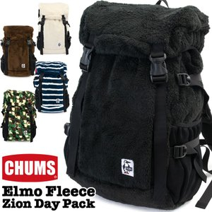 CHUMS チャムス デイパック Elmo Fleece Zion Day Pack エルモ フリース ザイオン|2m50cm