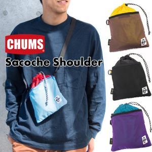 CHUMS チャムス サコッシュ Sacoche Shoulder ショルダーバッグ|2m50cm