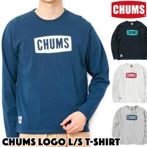 チャムス CHUMS Logo L/S T-Shirt CHUMSロゴ 長袖Tシャツ|2m50cm