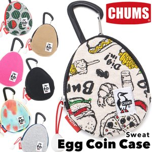 CHUMS チャムス 財布 Egg Coin Case Sweat エッグ コインケース スウェット|2m50cm