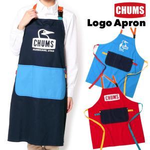CHUMS チャムス エプロン Logo Apron ロゴ エプロン|2m50cm