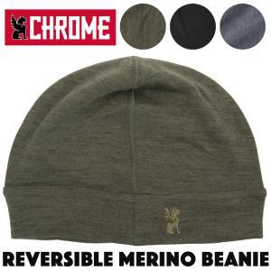 CHROME クローム REVERSIBLE MERINO BEANIE リバーシブル メリノ ビーニー|2m50cm