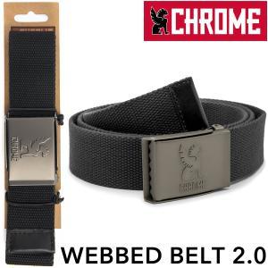 ベルト CHROME クローム WEBBED BELT 2.0 ウェブドベルト|2m50cm