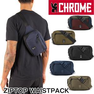 ボディバッグ CHROME クローム ZIPTOP WAISTPACK ジップトップ ウエストパック|2m50cm