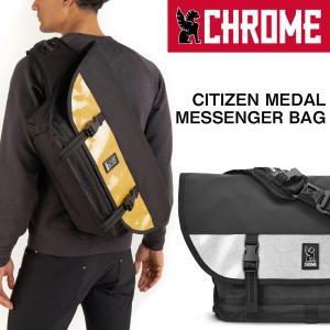 CHROME クローム CITIZEN MEDAL MESSENGER BAG シチズン メダル メッセンジャーバッグ|2m50cm