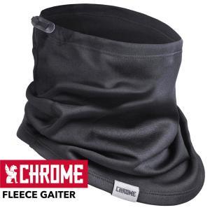 ネックウォーマー CHROME クローム FLEECE GAITER フリース ゲイター|2m50cm