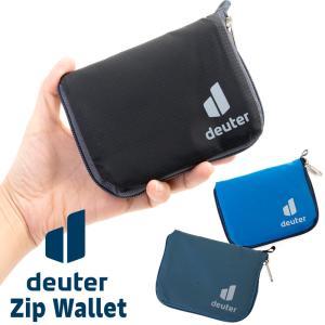 二つ折り財布 Deuter ドイター ZIP WALLET ジップ ウォレット|2m50cm