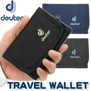 三つ折り財布 Deuter ドイター TRAVEL WALLET トラベル ウォレット|2m50cm