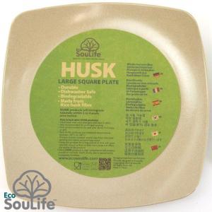 お皿 EcoSouLife Square Plate Large スクエアプレート ラージ|2m50cm