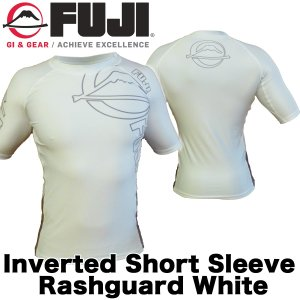 FUJI ラッシュガード Inverted Short Sleeve Rashguard White|2m50cm