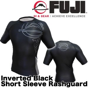 FUJI ラッシュガード Inverted Black Short Sleeve Rashguard|2m50cm