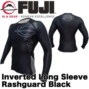 FUJI ラッシュガード 長袖 FUJI Inverted Long Sleeve Rashguard Black|2m50cm