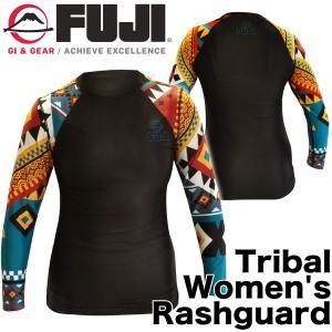FUJI ラッシュガード レディース 長袖 Tribal Women's Rashguard|2m50cm