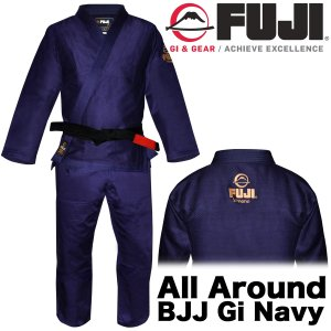 FUJI 柔術着 All Around BJJ Gi Navy フジ ネイビー|2m50cm