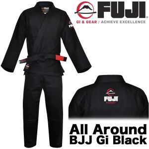 FUJI 柔術着 All Around BJJ Gi BLACK フジ ブラック|2m50cm