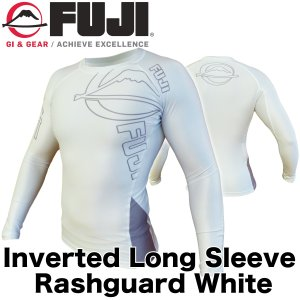 FUJI ラッシュガード 長袖 Inverted Long Sleeve Rashguard White|2m50cm