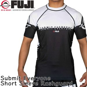 ラッシュガード FUJI Submit Everyone Short Sleeve Rashguard トレーニングウェア 2m50cm