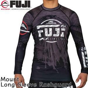 ラッシュガード FUJI Mount Long Sleeve Rashguard トレーニングウェア 長袖 2m50cm