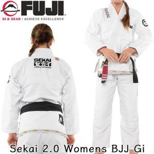 柔術着 FUJI Sekai 2.0 Womens BJJ Gi フジ ホワイト 白 ウィメンズ 2m50cm
