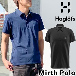ポロシャツ Haglofs ホグロフス Mirth Polo Men's ミルス ポロ メンズ|2m50cm