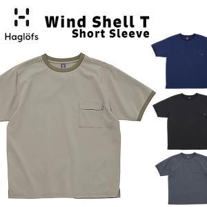Haglofs ホグロフス Wind Shell T SS 半袖 ウィンドシェル Tシャツ|2m50cm