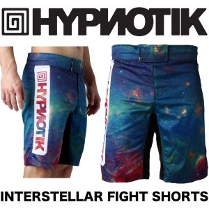 HYPNOTIK ファイトショーツ INTERSTELLAR FIGHT SHORTS|2m50cm
