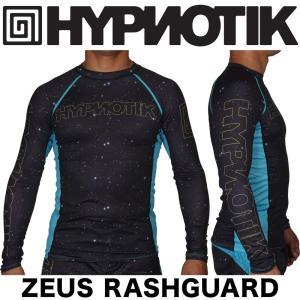 HYPNOTIK ラッシュガード 長袖 ZEUS RASHGUARD BLACK ブラック|2m50cm