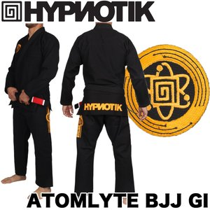 HYPNOTIK 柔術着 ATOMLYTE BJJ GI ブラック|2m50cm