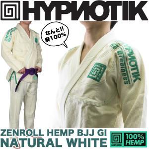 HYPNOTIK 柔術着 ZENROLL HEMP BJJ GI Natural White|2m50cm