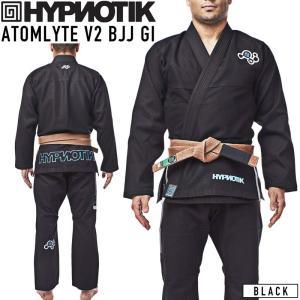 柔術着 HYPNOTIK ATOMLYTE V2 BJJ GI 黒 Black|2m50cm