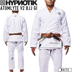 柔術着 HYPNOTIK ATOMLYTE V2 BJJ GI ホワイト White 2m50cm