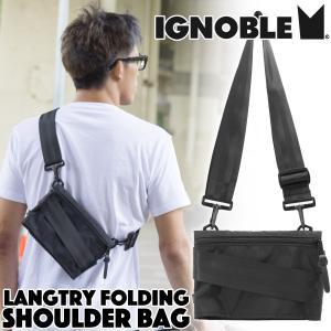 IGNOBLE イグノーブル Langtry Folding Shoulder Bag ショルダーバッグ|2m50cm