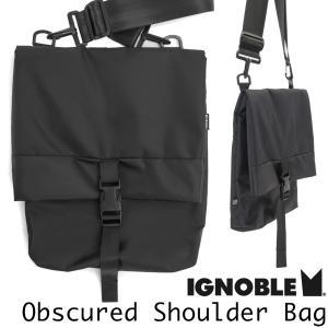 ショルダーバッグ IGNOBLE イグノーブル Obscured Shoulder Bag オブスキュアード ショルダーバッグ|2m50cm