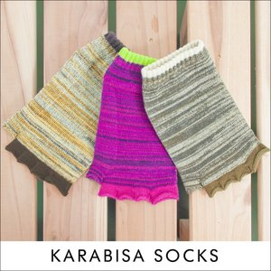 指なし 靴下 アンクルソックス KARABISA SOCKS カラビサソックス|2m50cm