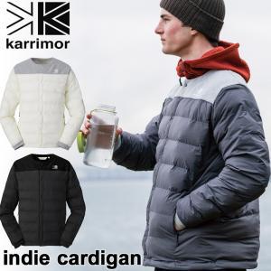 アウター karrimor カリマー ダウン indie cardigan インディ カーディガン (ユニセックス)|2m50cm