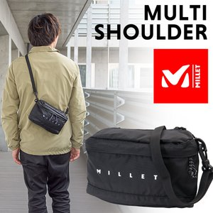 ショルダーバッグ MILLET ミレー マルチ ショルダー MULTI SHOULDER|2m50cm