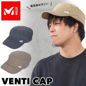 帽子 MILLET ミレー Venti Cap ベンチ キャップ|2m50cm