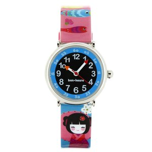 ベビーウォッチ 子供用 腕時計 コフレ ボ・ヌール お人形|2m50cm