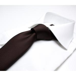 DRAKE'S『ドレイクス』英国製ネクタイ 正規取扱店 DRAKE'S-E5080R-06870-6-50ozブラウンソリッド三つ巻|2nd-selection|08
