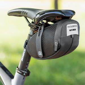 容量拡張可能 サドルバッグ 自転車バッグ ベルクロで固定 テールライト取り付け可能 2ndcycle
