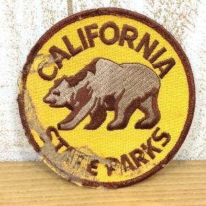 ワッペン CALIFORNIA STATE PARKS 希少モデル ウェアやザックをカスタマイズ 写真にてご確認下さい クリアー系 2ndgear-outdoor