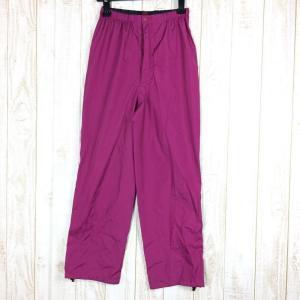 モンベル MONTBELL レインフィールダー 女性用 パンツのみ ゴアテックス・XCR WOMEN's S RAS ラズベリー パープル系|2ndgear-outdoor