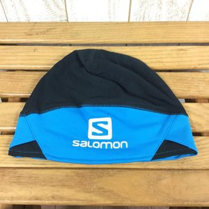 サロモン SALOMON RS プロ ビーニー RS PRO BEANIE  M ブルー系|2ndgear-outdoor