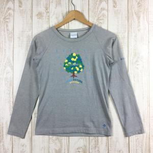 【WOMEN's S】コロンビア Ws スワッフォード Tシャツ 女性用 レディース ウィメンズ COLUMBIA PL2129 グレー系|2ndgear-outdoor