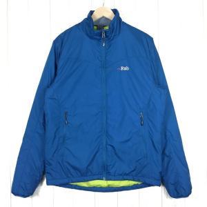 ラブ RAB プラズマ ジャケット PLASMA JACKET  International MEN's M ブルー系|2ndgear-outdoor