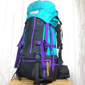グレゴリー GREGORY アポロ APOLLO 紫タグ ターコイズ×パープルトリム バックパック 旧タグ 希少モデル L ターコイズ×パープルトリム|2ndgear-outdoor