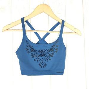 パタゴニア PATAGONIA アクティブ メッシュ ブラ Active Mesh Bra スポーツブラ ブラジャー  WOMEN's M OMGB ブルー系|2ndgear-outdoor