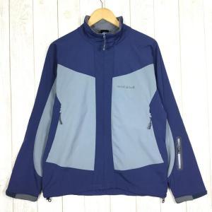 モンベル MONTBELL ウィンドストッパー コスミックジャケット  Asian MEN's M ネイビー系|2ndgear-outdoor